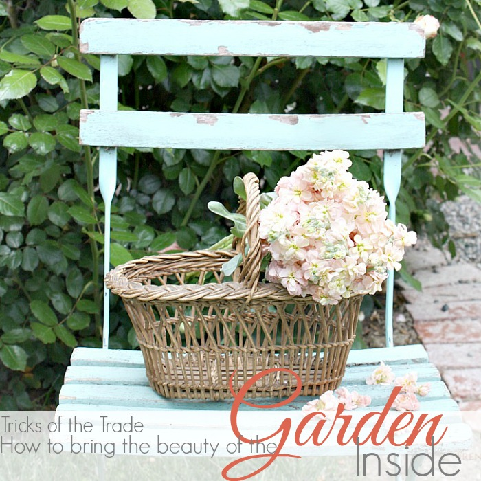 TRICKS OF THE TRADE | BRING THE BEAUTY OF THE GARDEN INSIDE
