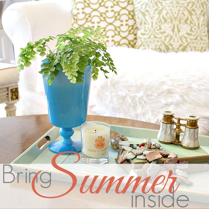 TRICKS OF THE TRADE | BRING SUMMER INSIDE