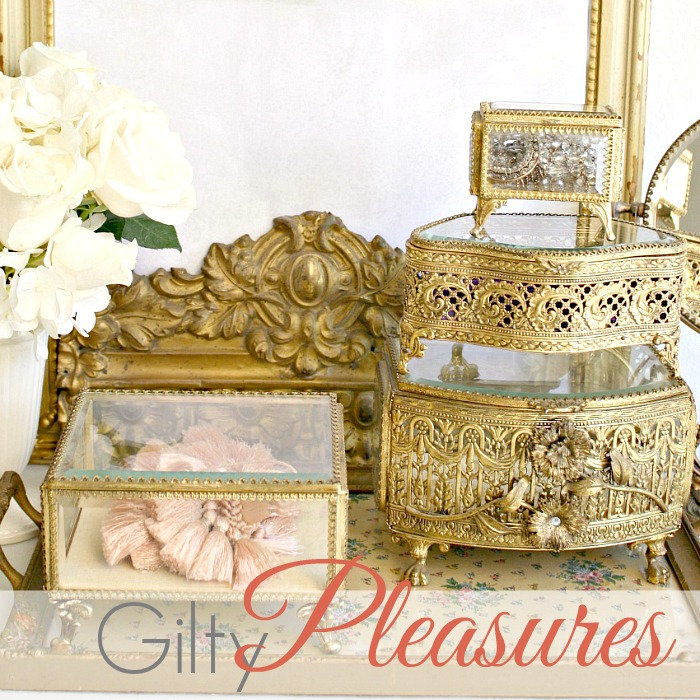 GILTY PLEASURES | Add Luxury and Glamour to Your Home