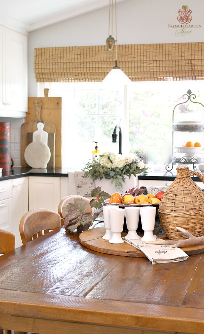 Designer tips to decorate your home for fall for French country house blog