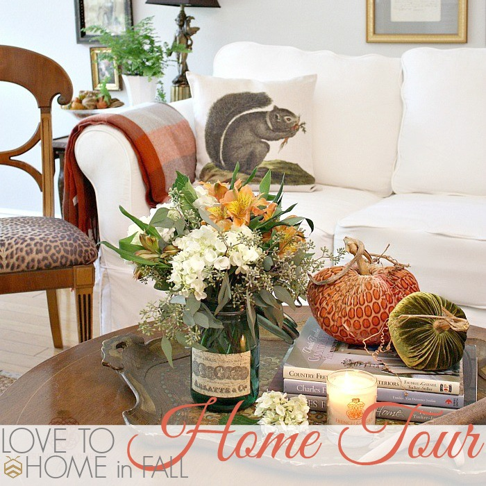 LOVE TO bHOME in FALL HOME TOUR