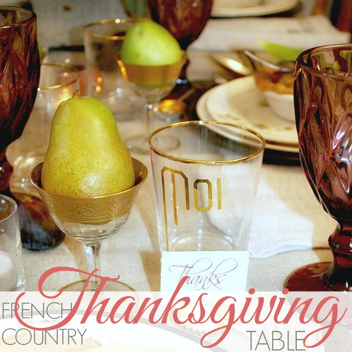 Setting a magical Thanksgiving table can be