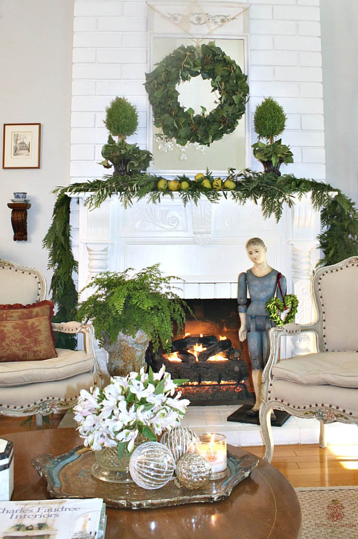 5 ways to add holiday beauty to your home and christmas for French country house blog