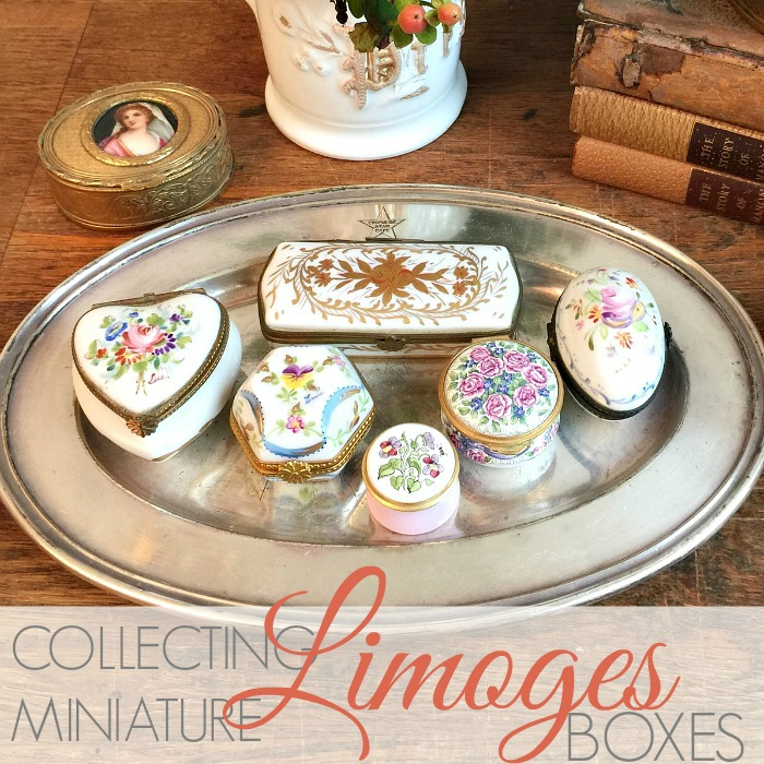 COLLECTING MINIATURE LIMOGES BOXES