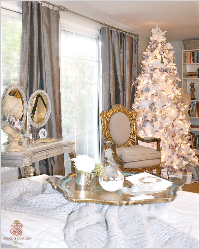 You Dont Have To Buy Holiday Decorations For Every Spot I Like Highlight The Antiques In Our Home Holidays They Really Always Take Center