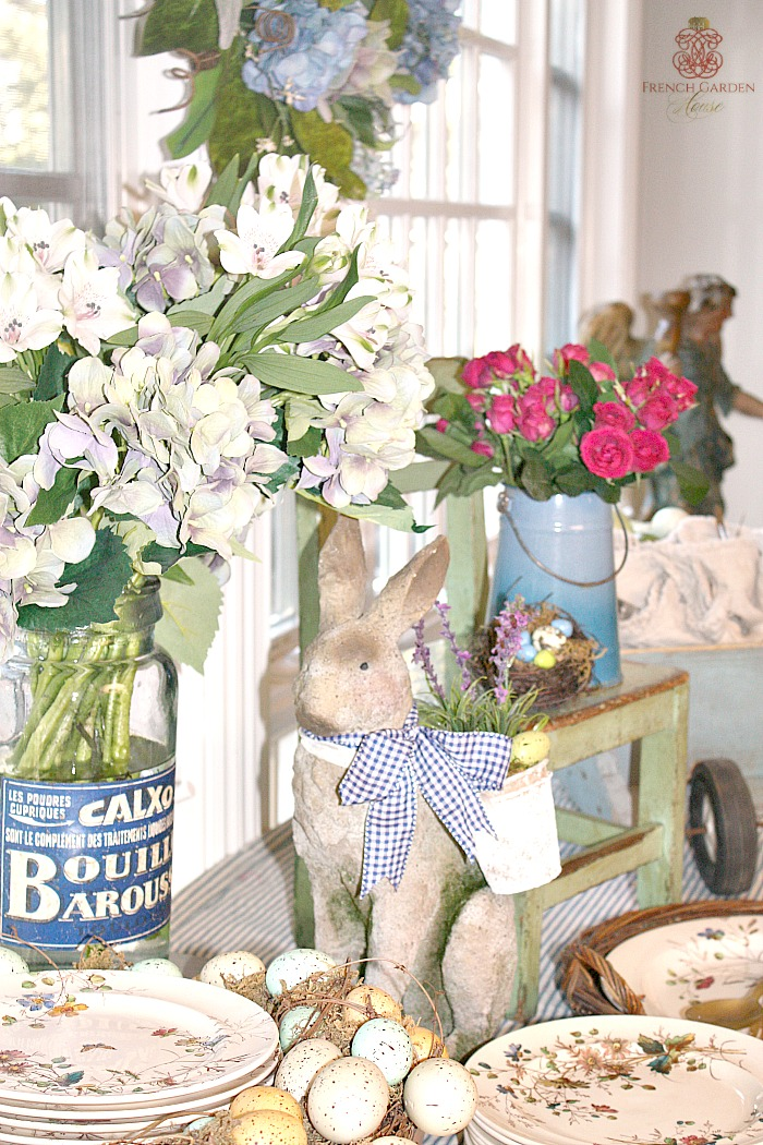 6 tips to set a stunning french country easter buffet for French country house blog