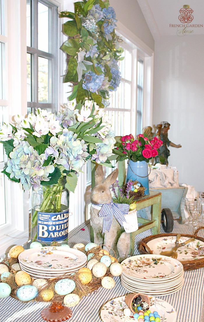 6 tips to set a stunning french country easter buffet for French country blog