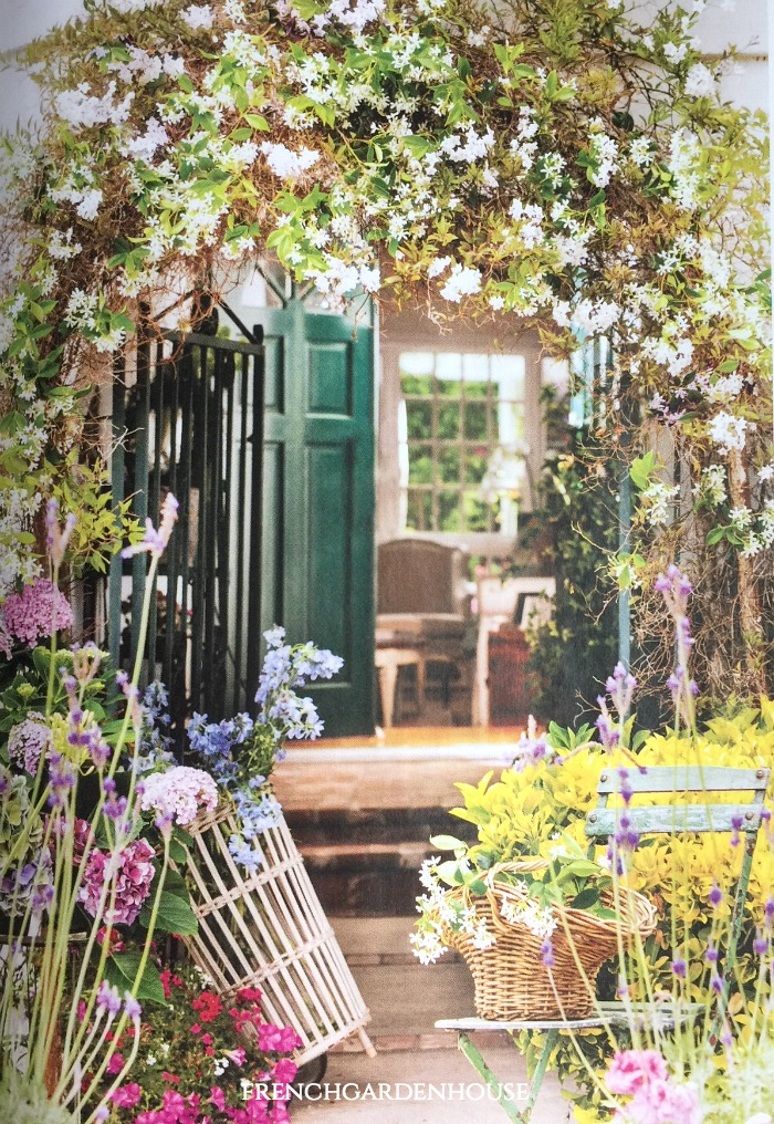 Our Gardens Were Recently Featured In This Old House Magazine Their June Issue What A Thrill To See My Back Patio On The Cover At Book Store