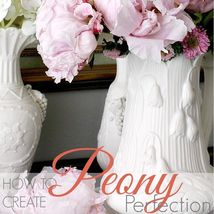 HOW TO CREATE PEONY PERFECTION