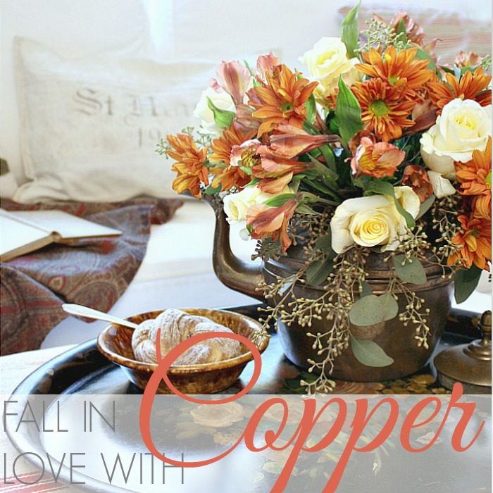 FLORAL FRIDAY | FALL IN LOVE WITH COPPER