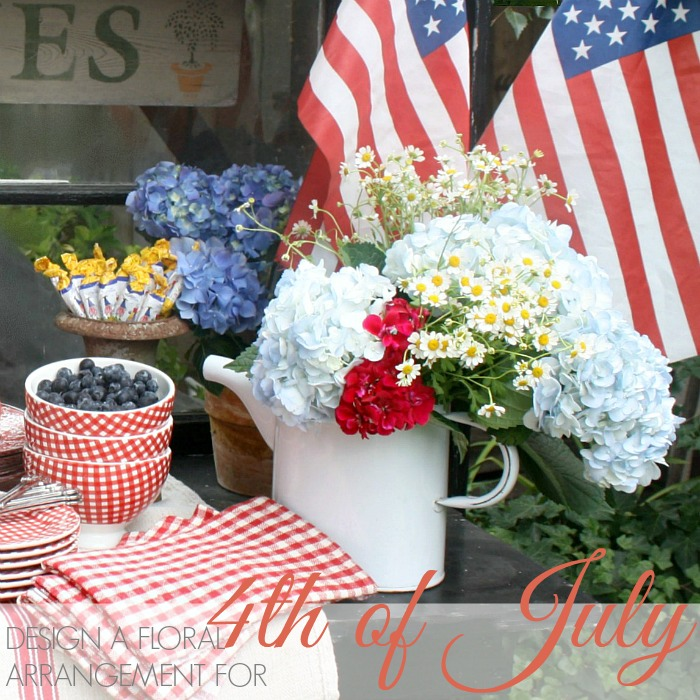 MONDAY MORNING BLOOMS 4th of July