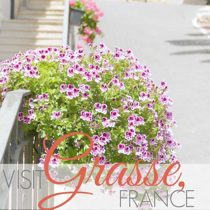 VISIT GRASSE, FRANCE