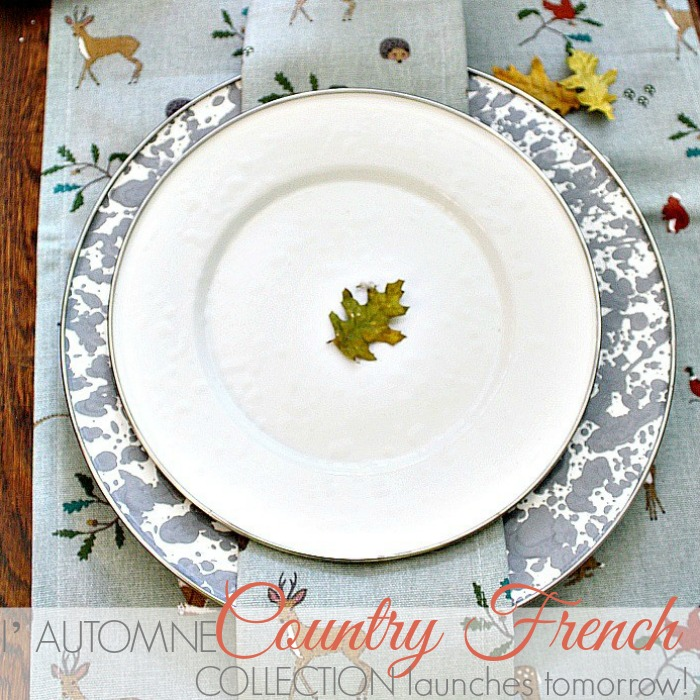 THE l' AUTOMNE COUNTRY FRENCH COLLECTION LAUNCHES TOMORROW!