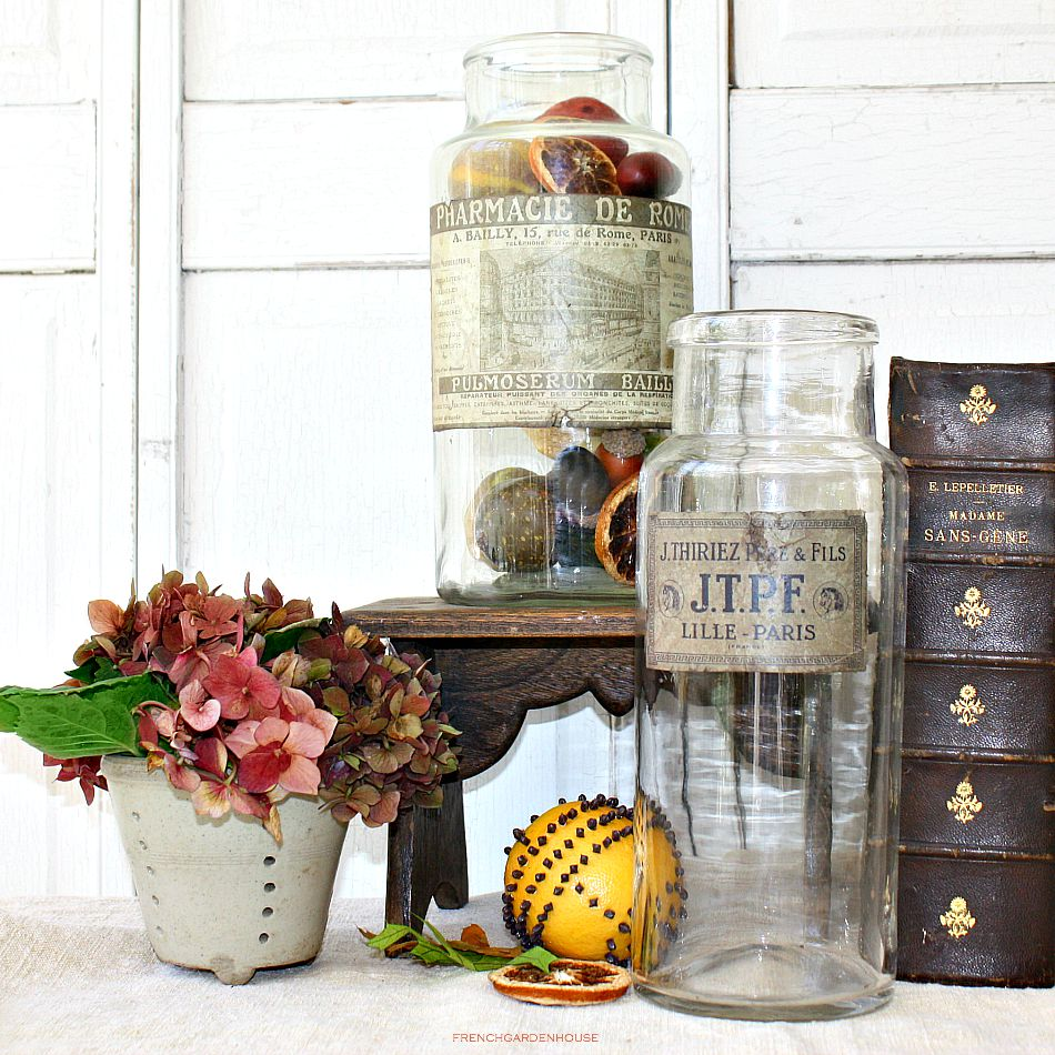 Antique French Apothecary Jar