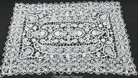Antique Italian Reticella Needle Lace Table Place Mats Set ...