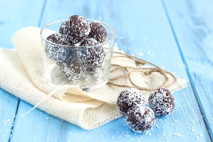 Kókuszgolyó or Hungarian coconut balls