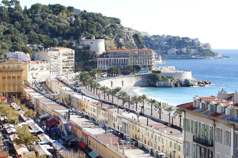 Everyday Is Market Day On Nice S Cours Saleya French