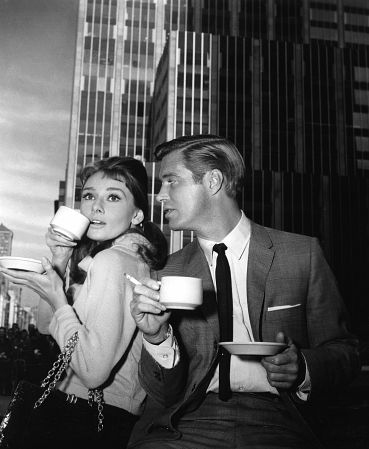 Audrey Hepburn, George Peppard, Breakfast at Tiffany's
