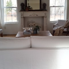 Hovas Sofa Dimensions Cost To Recover Sydney Where Can I Buy Slipcovers For Sofas The Pottery Barn