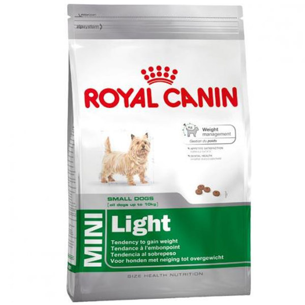 pienso perros royal canin mini light weight care control peso