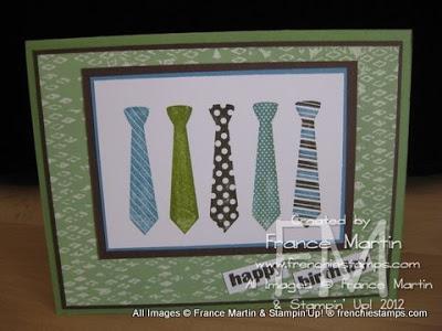 Tie Masculine Monday plus Flower