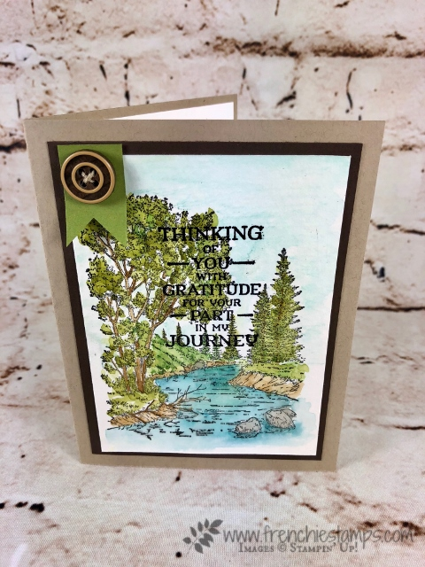 Stampin'Up! Peaceful Place Easy Watercolor