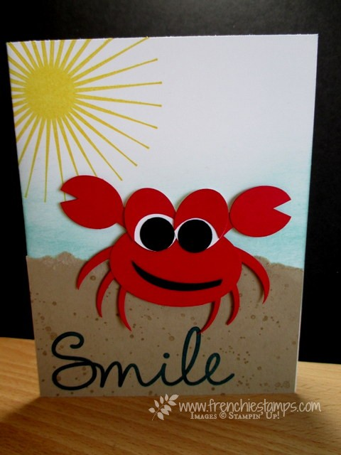 Crabby with a smile