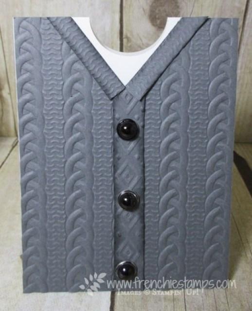 Cable Knit Men Vest