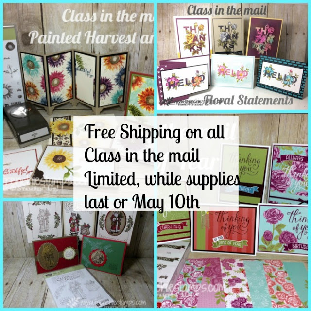 Free Shipping on all Class in the mail