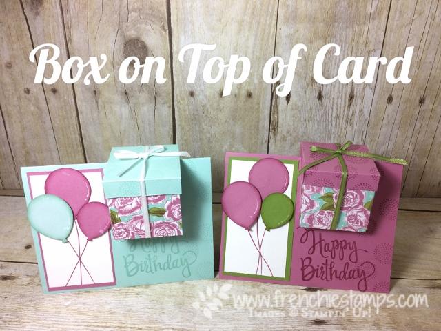 Box on a Card Balloon Celebration
