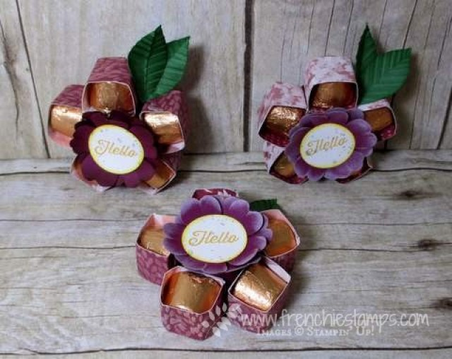Rollo Flowers, Stampin'Up!, Frenchiestamps