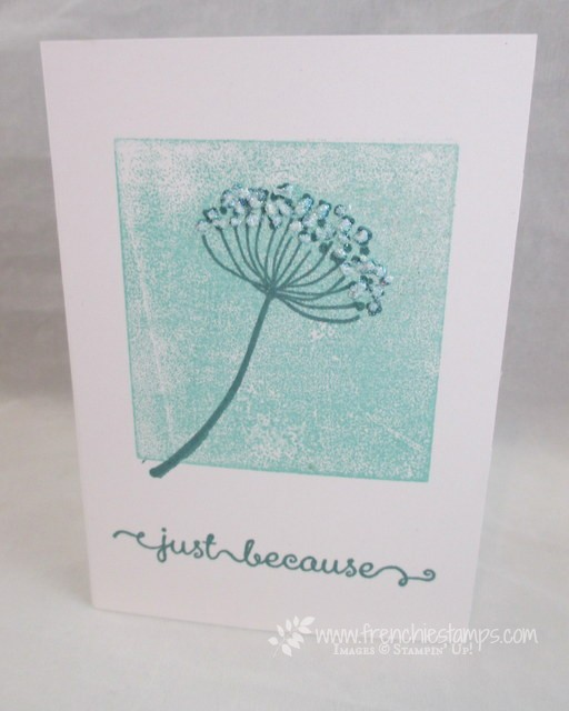 Stamp on the go with Summer Silhouette