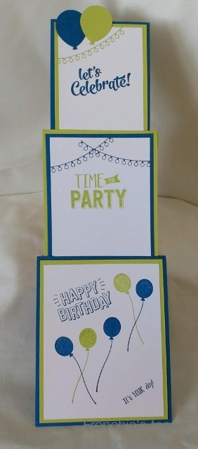 Confetti Celebration, Balloon Bouquet Punch, Interactive Cards, Stampin'Up!, Frenchie's Customer Appreciation