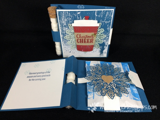 Hot Chocolate Card with closure