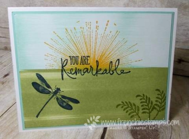 Awesomely Artistic, Remarkable You, Wherever You Go, Stampin'Up!, Frenchiestamps,