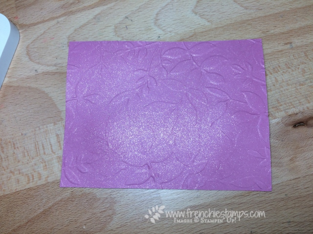 DYI Shimmer Spray, Wink of Stella, Stampin'Up!, Shimmer Color Cardstock,
