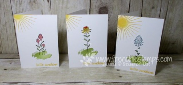 Stamp on the Go Flowering Fields Blog Candy winner and contest winner
