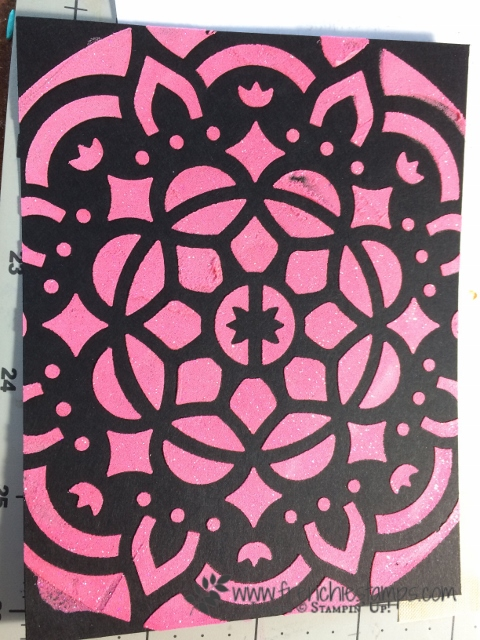 Stampin'Up! Embossing Paste, Frenchiestamps