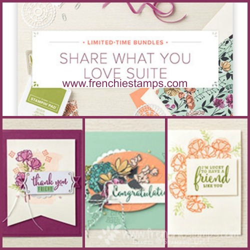 Share What You Love Early Release Stampin'Up!, Frenchiiestamps,