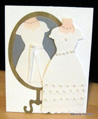 Wedding Card with Framlites Dress-Up