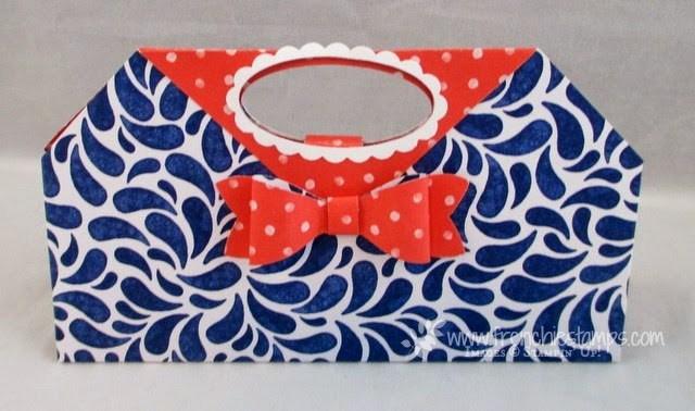 10 x 10 Designer purse Perfect for chocolate