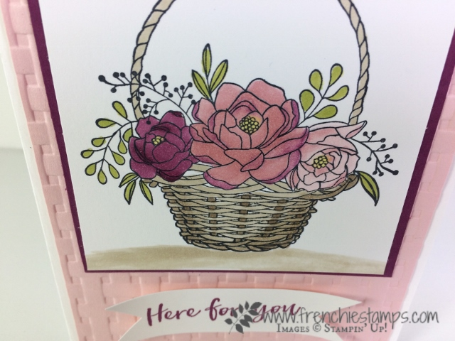 Blossoming Basket, Sale a Bration, Tip Video, Basket Weave, Stampin'Up!