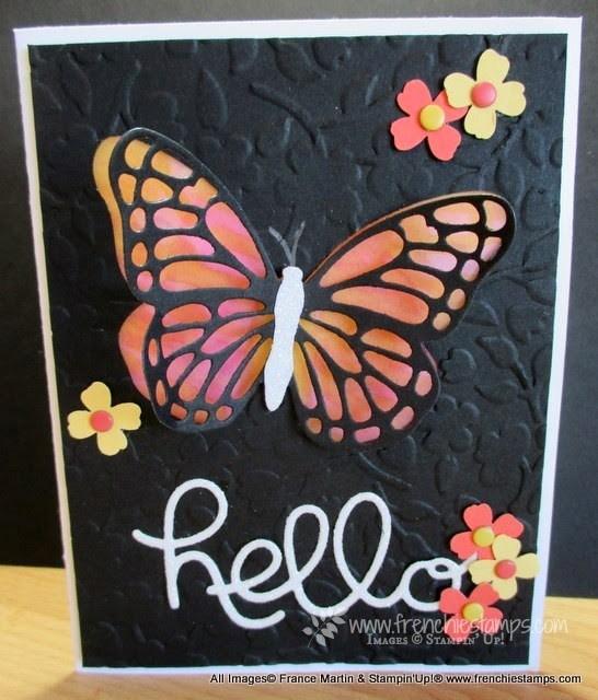 Butterfly Vellum Window