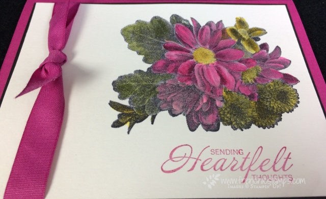 Heartfelt Blooms, Watercolor, Frenchie stamps, Stampin'Up!