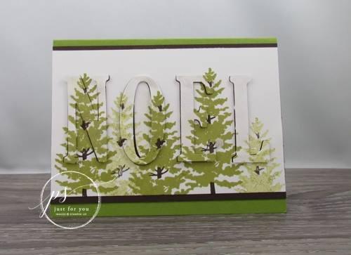 Season Like Christmas, Large Letters Framelits, Stampin'Up!