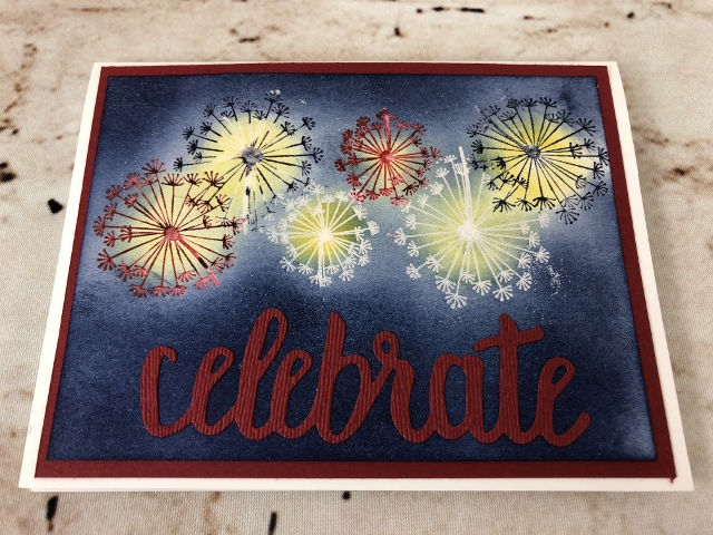 Red, White and Blue 4th of July Cards