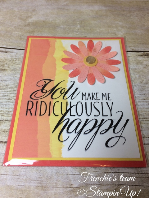Glossy Paper, Lovely Friends, Daisy Punch, Stampin'Up!