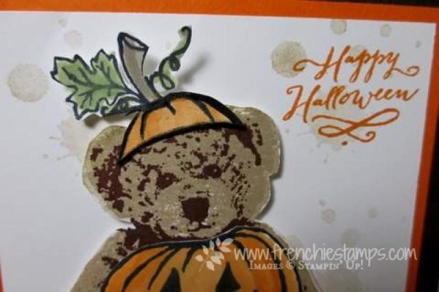 Baby Bear, Jar of Hunts, Halloween Card