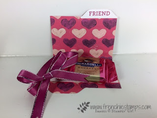 Chocolate Files Jacket, Ghiradelli, stampin'Up!, Envelop Punch Board,