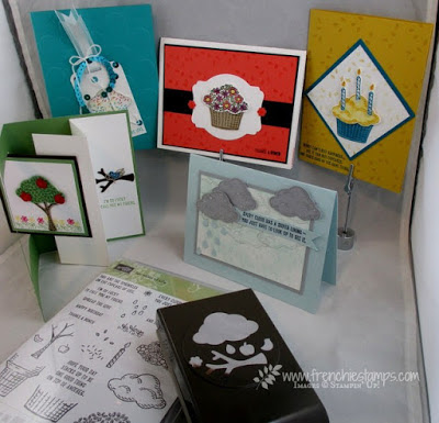 Sprinkle of Live, Stamping Class in the mail, Free Shipping Stampin'Up!, Frenchiestamps,